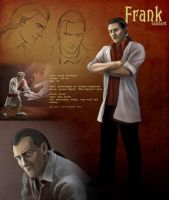 Frank character reference by AlbinaDiamond