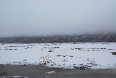 Winter Lake 5 by prints-of-stock