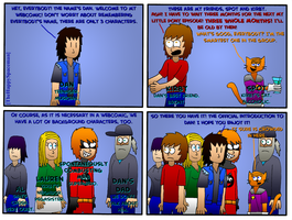 Dan Comics No.66 - Official Intro by The-Happy-Spaceman