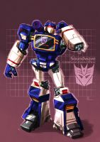 Soundwave from Transformers by CoolSurface