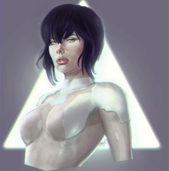 Ghost in the Shell by Angietatsu