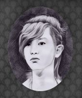 Chanyeol drawing^^ EXO by Devient-tart