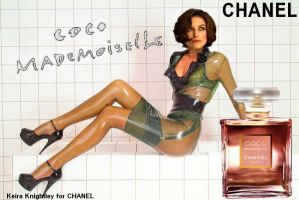 Keira Knightley for Chanel 2 by Andylatex