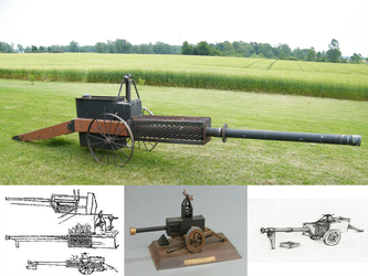 Leonardo da Vinci  Steam Cannon by BannerWolf