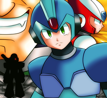 Megaman X by CheloStracks
