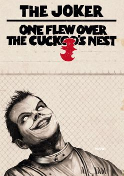 the joker one flew over the cuckoo's nest by m7781