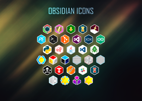 Obsidian Icons by Undre4m