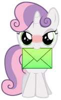 Sweetie Belle has a crush on you! by PureZparity