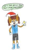 Sonic 25 Days of Chrismas - Day 2 (Sally Acorn) by dth1971