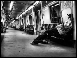 the subway by xFreT