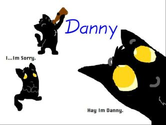 Catcsratch OC: Danny by Ghost-Peacock