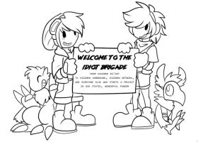 [p] welcome to the idiot brigade by glitchgoat