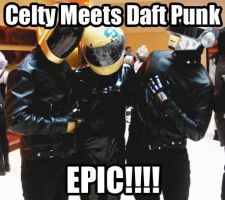 Celty meets Daft Punk by Collioni69