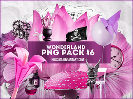 PNG PACK #6 - wonderland by hulsuga