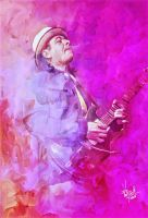 Santana pop art by DivvuartRome