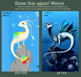 Before and after~ by Milinili