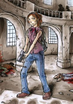 Buying some time - The Last of Us - ATC by Merinid-DE