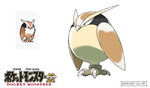Pokemon Gold Beta - Noctowl by Tomycase