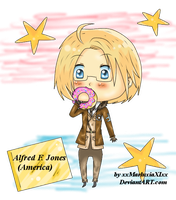 Chibi America by SparklingHoney-Q