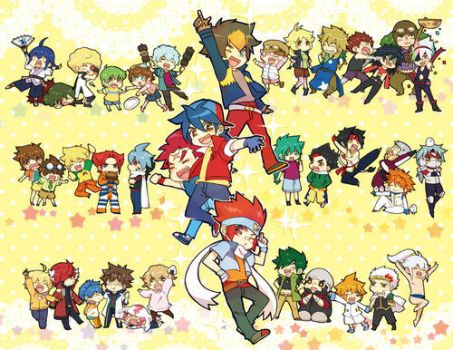 The Beyblade Generations ! by RDWK