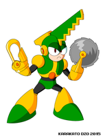 Saw Man (Mega Man Revolution) by KarakatoDzo