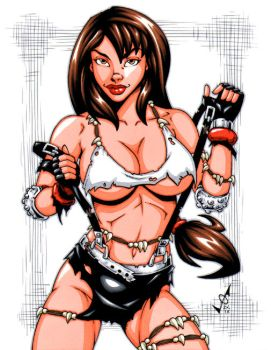 Savage Land Tifa by gb2k