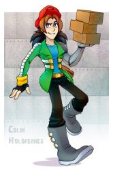 Comm. Colin  Holofernes by 13VOin