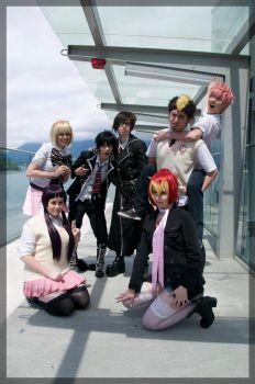 Blue Exorcist- Class Photo by twinfools