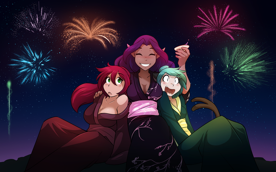 AI New Year by Twokinds