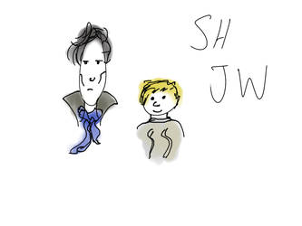 SH and JW by Storming777