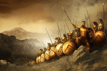 300 Spartans by DevJohnson