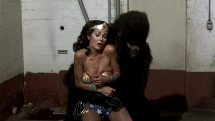 Wonder Woman ass-drilled by ApeGod by GodessesOfEarth