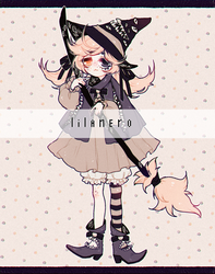{ little witch | OTA | OPEN } by lilanero