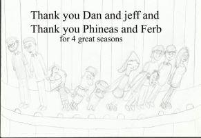 Phineas And Ferb Curtain Call by joey2132132