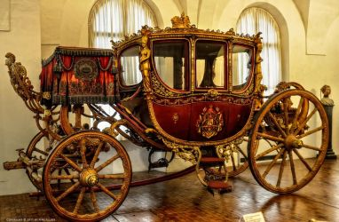 Munich Coronation Carriages by pingallery