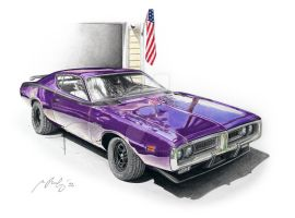 Dodge Charger 71 by Mipo-Design