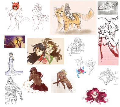 Sketchdump05 by Shattered-Earth