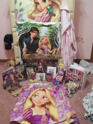 My Tangled Collection by x12Rapunzelx