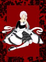 Near Red Lolita by osionide