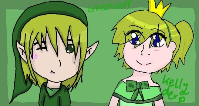 Me and Green by Me and Stacey by Ketgirl1992