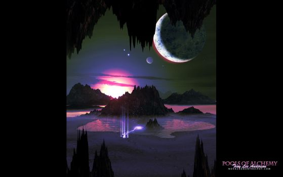Pools Of Alchemy - Widescreen by Novacron