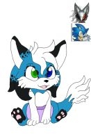 A infinite x Sonic fan baby forCount-Toon # 2 by spiritumiracle