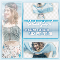 Pack PNG De Martina Stoessel | Pedido by Lichu-editions