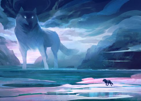 Sea Wolves by KatePfeilschiefter