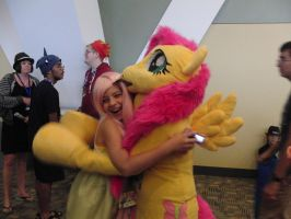 Fluttershy Hug by spw6