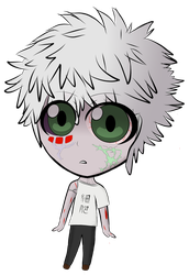 Cells at Work - Cancer Cell Chibi by FreezyChanMMD