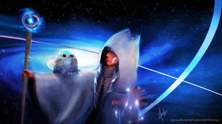 Ahsoka the White by DarthTemoc