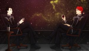 LoGH - Stars and Wine by Aerlin