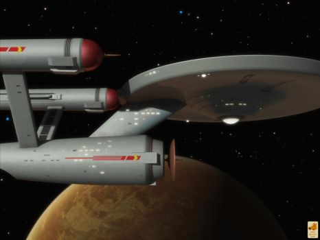 Deflector assembly curvature by thefirstfleet