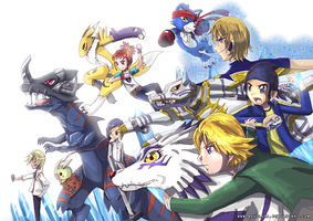Digimon Side B by ashflura